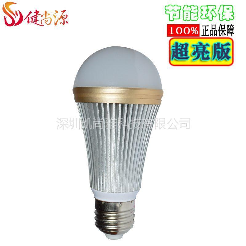 供应政府补贴健尚源LED节能灯泡螺旋LED灯泡3w螺口浴霸灯泡LED球泡灯