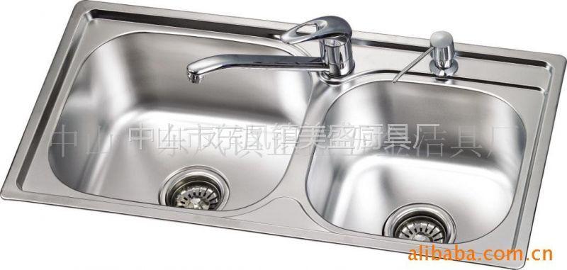 供应不锈钢水槽、厨房水槽LQ7841
