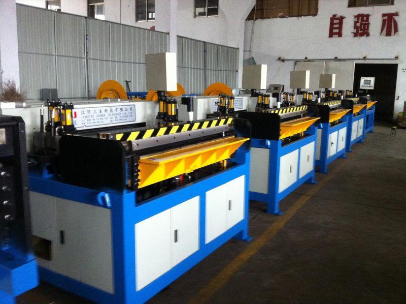 供应全自动矩形风管机,风管自动生产五线,共板法兰自动生产线
