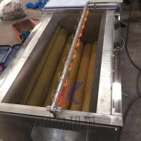 果蔬自动去皮清洗机芋头红薯去皮机现货厂家