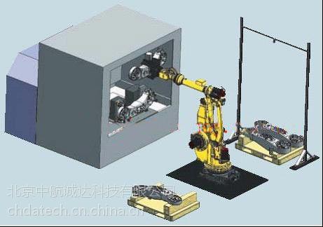 供应专业机器人上下料系统集成,北京中航诚达,13911439071