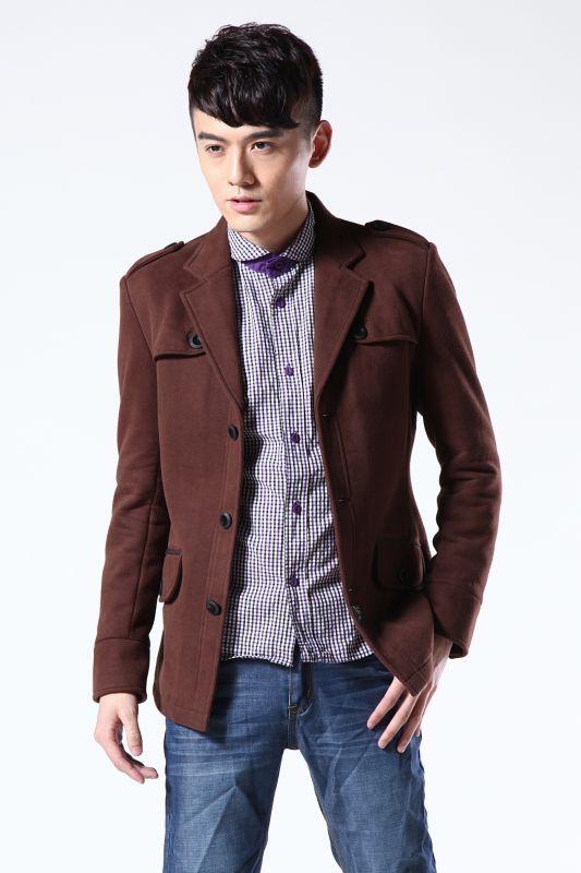 供应时尚英伦呢夹克