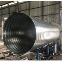 有机废气治理处理风管 佛山螺旋风管加工厂