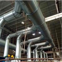 三水白铁皮管道精心制造通风螺旋风管厂家