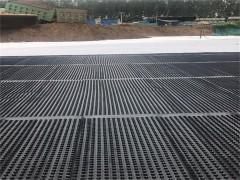 遵化车库顶板防根层塑料排水板保护板,量大有现货