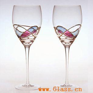 蒂凡尼彩繪【萬盛器皿】紅酒杯