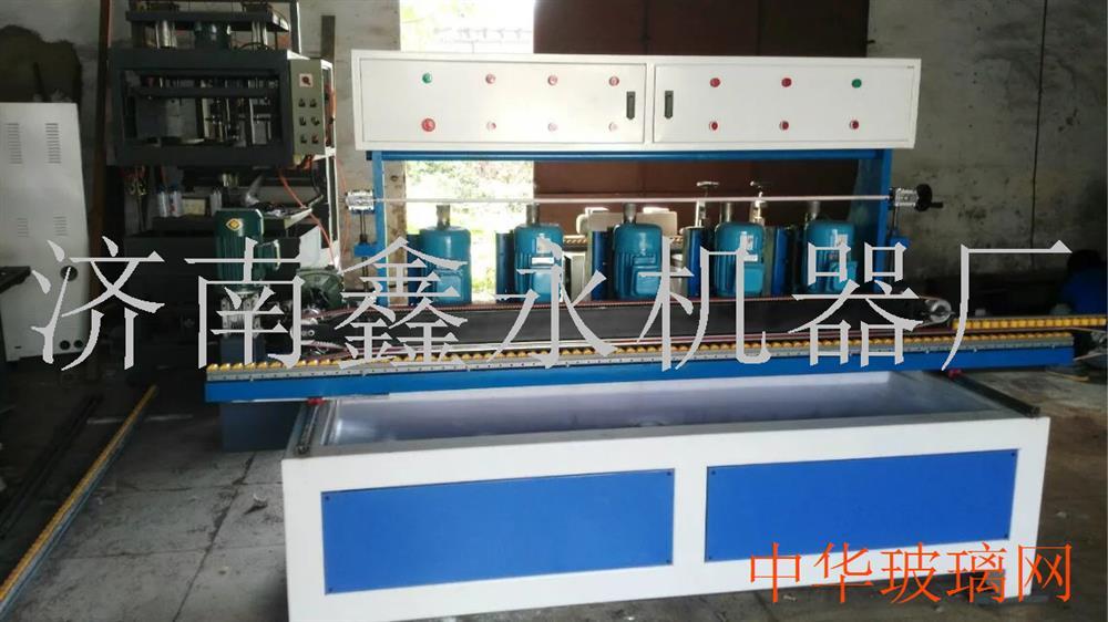多功能5磨头自动型小型玻璃磨边机