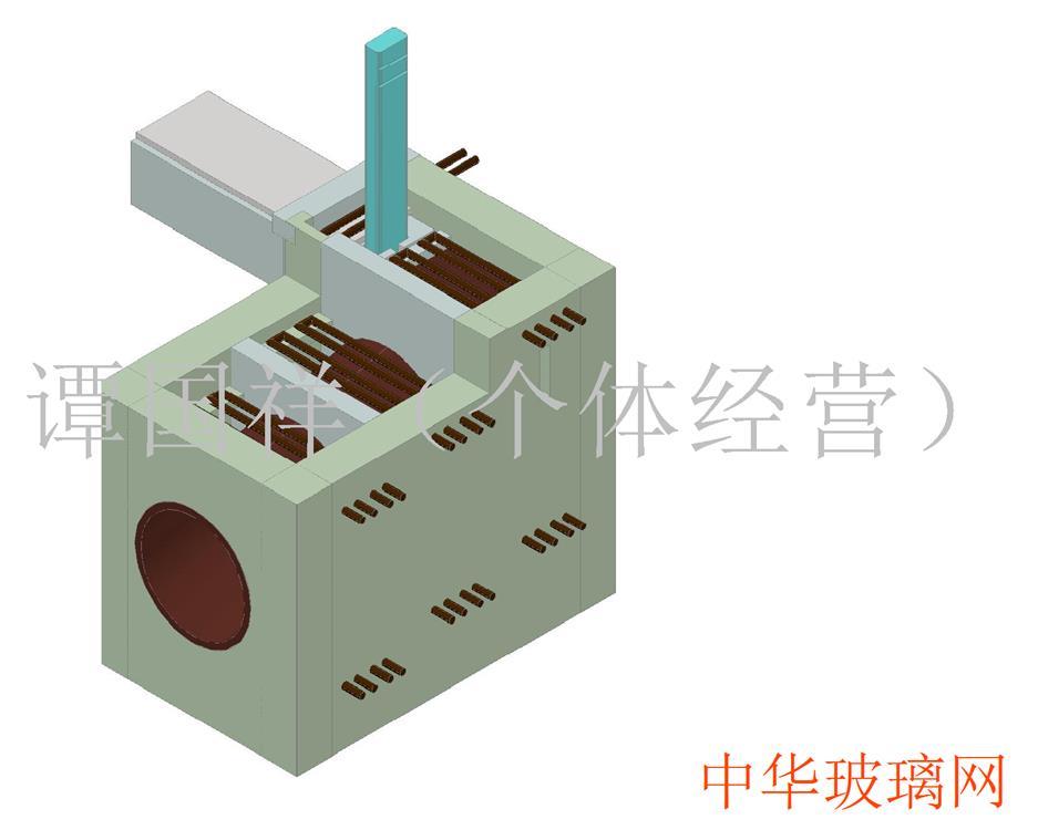 玻璃管生产线马弗炉电加热
