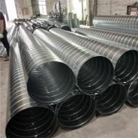 厂家直销镀锌板通风管道 镀锌板螺旋风管