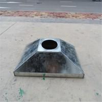 广州定制除尘螺旋风管除尘罩 排风罩咬口紧密