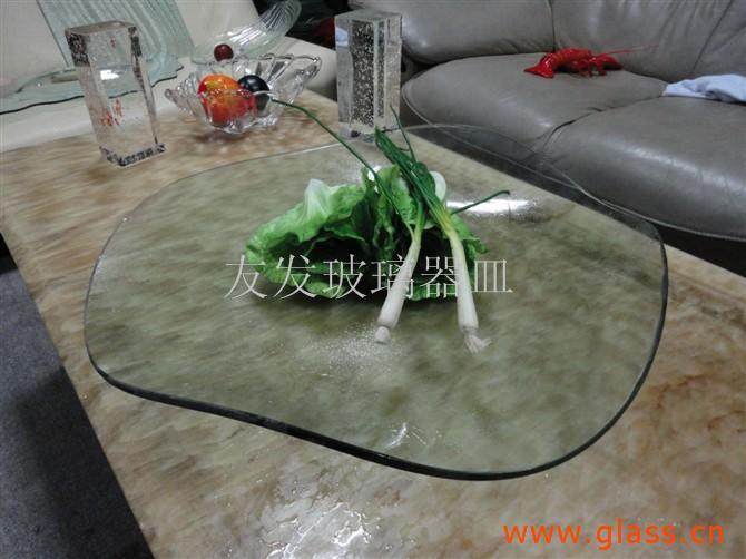 热熔玻璃器皿水果盘
