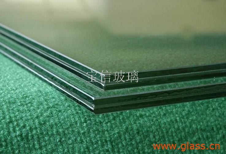 耐震性的浮法夹胶玻璃