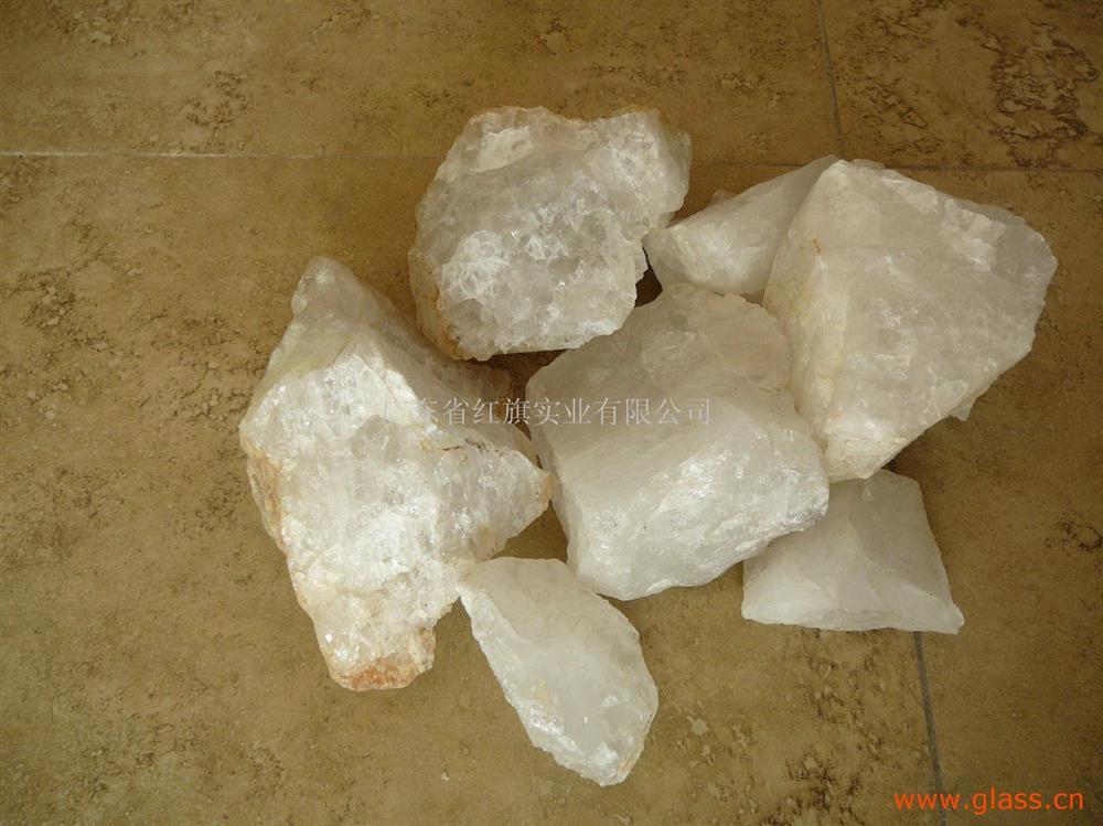 優質石英塊玻璃硅石