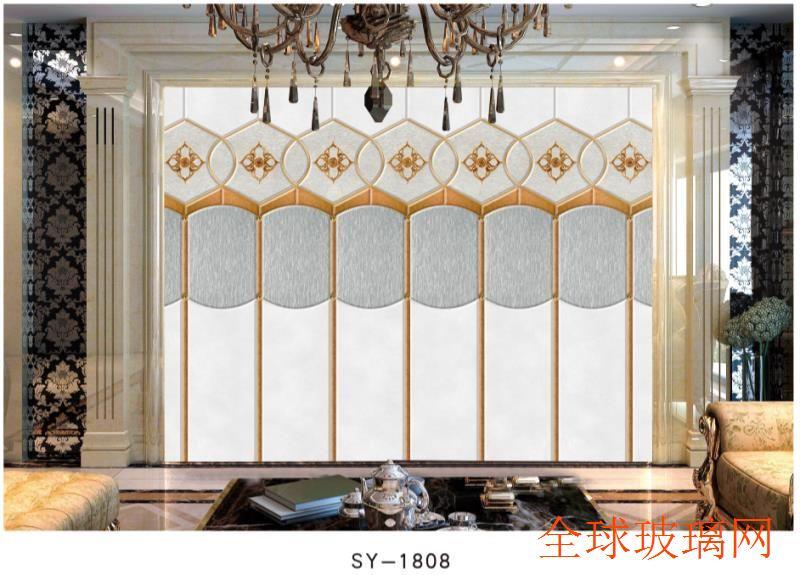 电视背景墙石材罗马柱拼镜背景墙卫浴