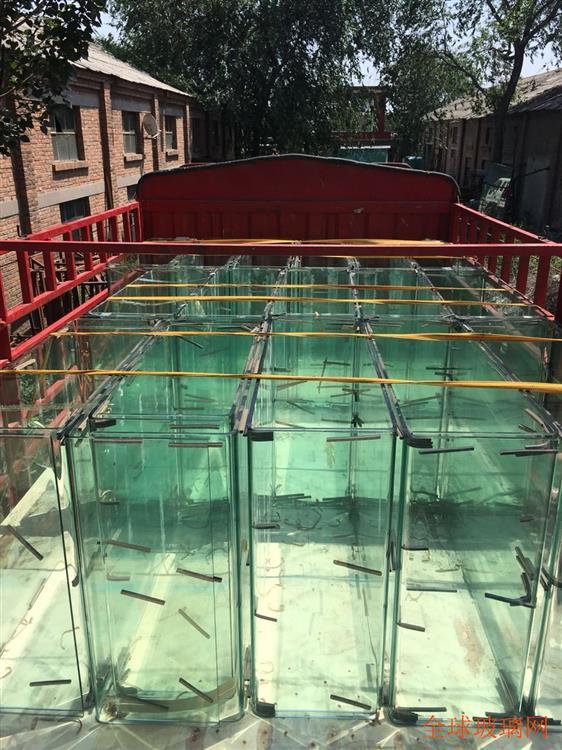 河北邯郸热弯玻璃鱼缸玻璃