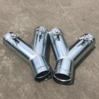 佛山大型不锈钢风管厂家专业废气处理工程管道