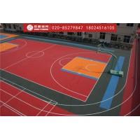 拼装地板篮球场建设及拼装地板材料生产厂家