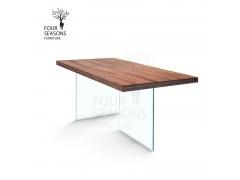 四季家具V0033 玻璃脚餐台