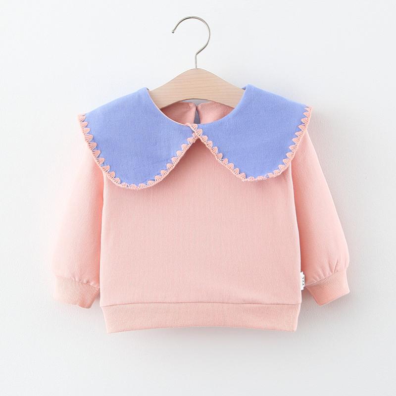 2020新款童装批发女童卫衣春秋季薄款婴幼儿童女宝宝长袖t恤上衣