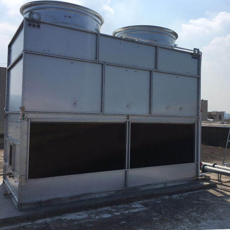 100噸單晶爐專用紫銅管超低噪音逆流式閉式冷卻塔廠家批發