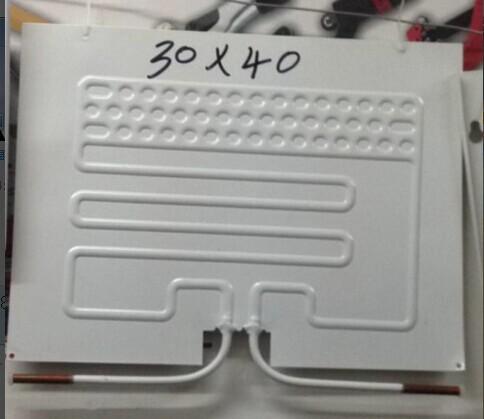 一手貨源吹脹式蒸發器30X40CM制冷板冰箱冰柜展示柜蒸發板