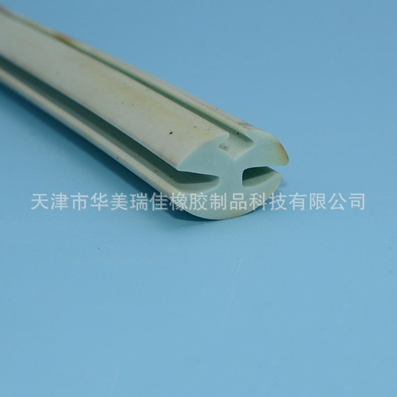 三口硅胶密封条厂家可定制门窗密封玻璃密封条硅胶密封防擦条