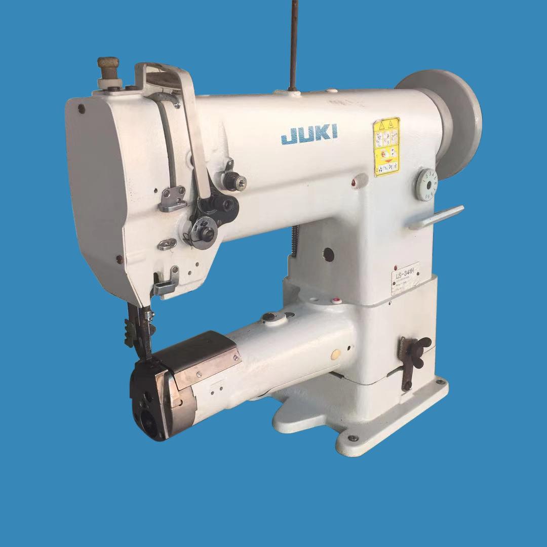 二手341高车筒式缝纫机汽车座垫厚料包边缝纫机