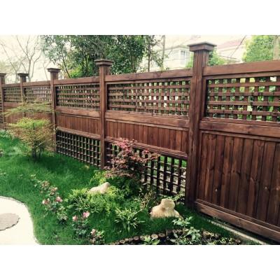 南康防腐木栏杆栅栏生产厂家、木护栏;亲水平台木栈道安装