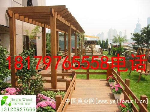 瑞金阳台防腐木|露台防腐木地板|防潮防晒墙板|木制葡萄架