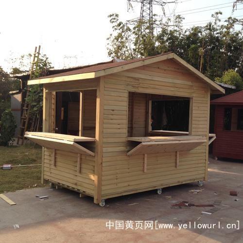 新余小木屋制作廠家,防腐木別墅、值班木崗亭子、門衛保安亭銷售