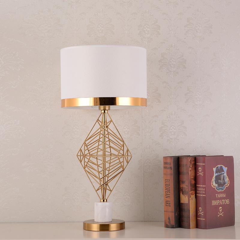 北欧ins少女简约现代客厅书房台灯卧室床头灯家用轻奢温馨创意灯