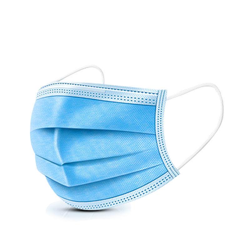 无纺布口罩20片装一次性囗罩三层现货防护口罩防雾霾飞沫防尘透气