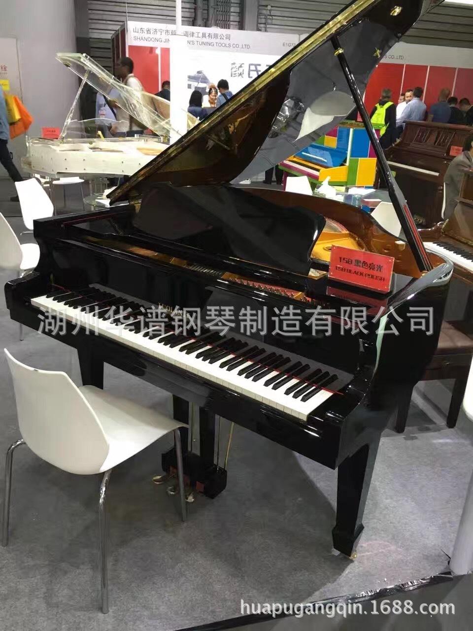 厂家直销,量大从优进口GP-158高端演奏三角琴卧式钢琴
