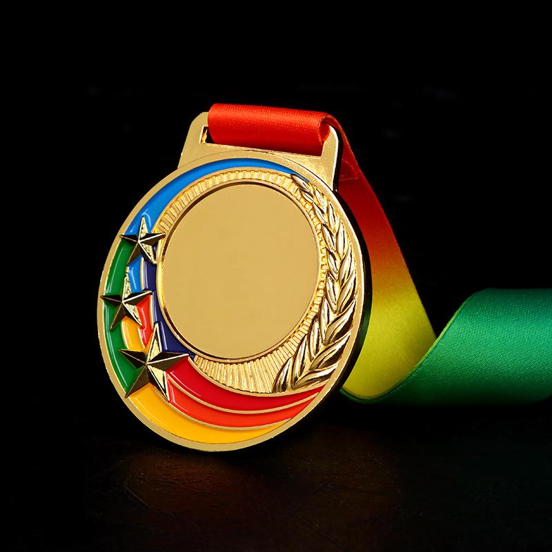 质优价平大号金属运动会奖牌定做奖章挂牌制作通用儿童奖品批发