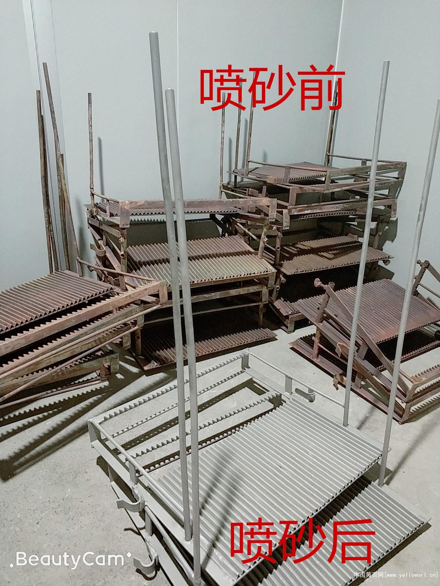 电镀挂具喷砂加工厂靶材喷砂加工