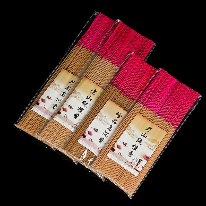 250克老山檀香沉香线香家用供香竹签香礼佛香艾草香厂家直销