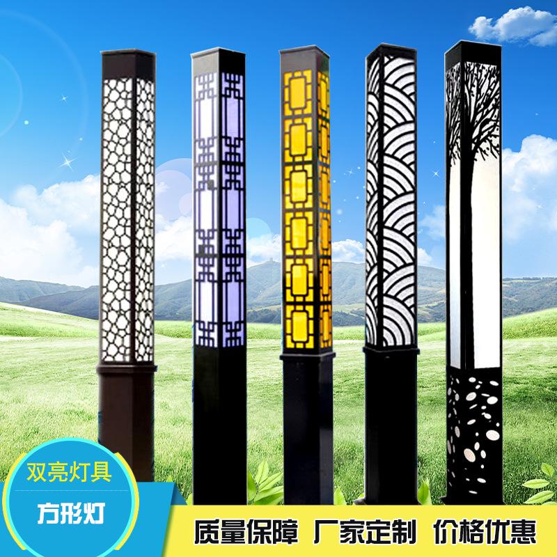 新款簡約方形道路景觀燈方形小區庭院燈具定制戶外園林led方柱燈