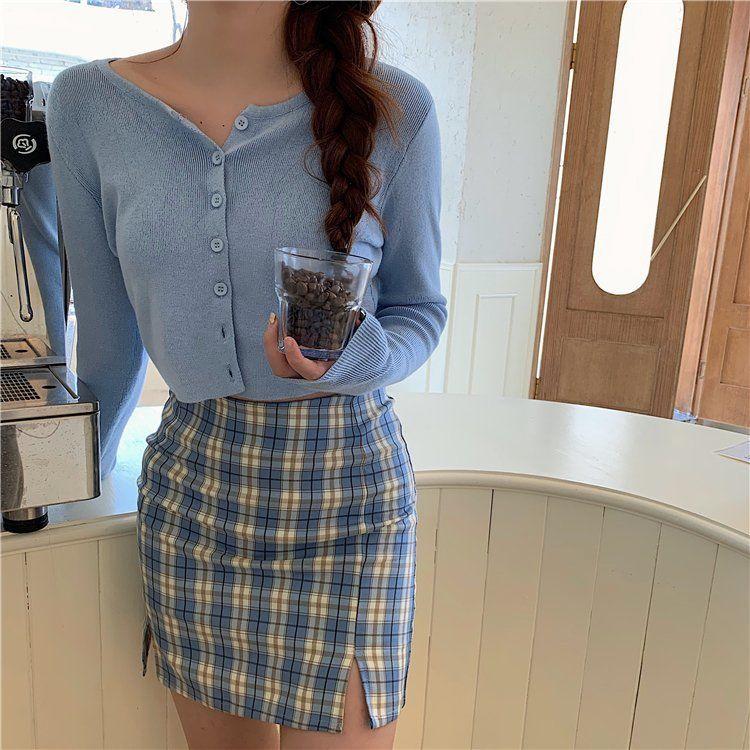 春夏新款韓版網紅薄款外搭開衫修身短款上衣防曬長袖針織衫女均碼