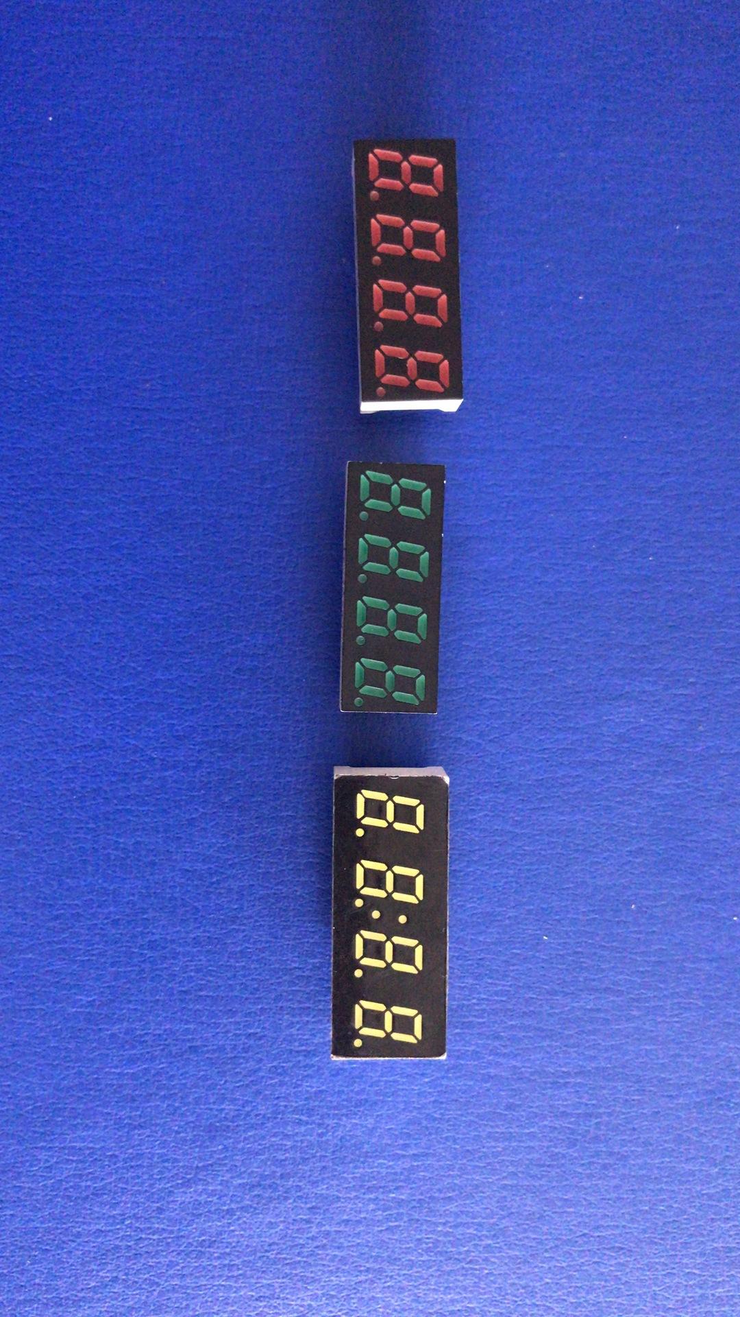 厂家供应0.3英寸四位数码管LED数码管