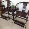 尚森红木交椅三件套价格明清古典休闲椅款式交椅的历史演变老挝大红酸枝交椅高端家具定制