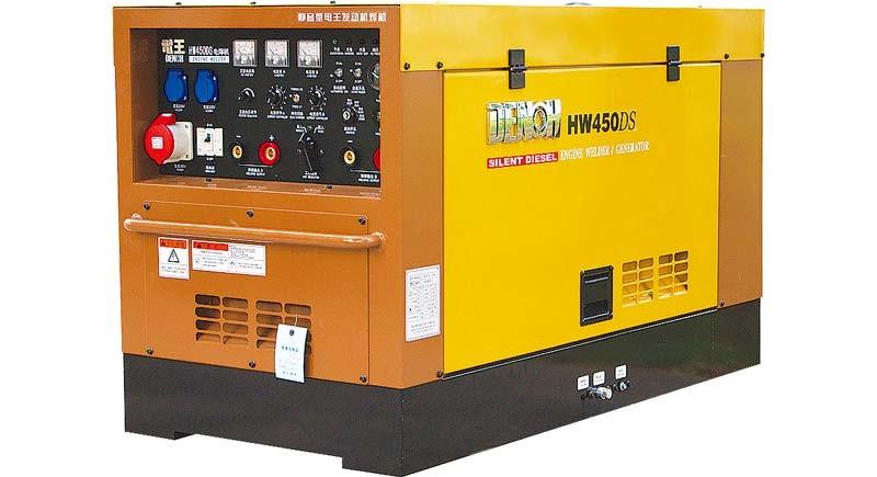HW450DS柴油400A静音发电电焊机