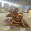 广西天使人物雕塑玻璃钢欧式人物雕塑定做