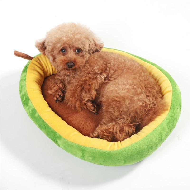 包邮牛油果狗窝宠物窝猫窝四季通用保暖宠物用品支持一件代发