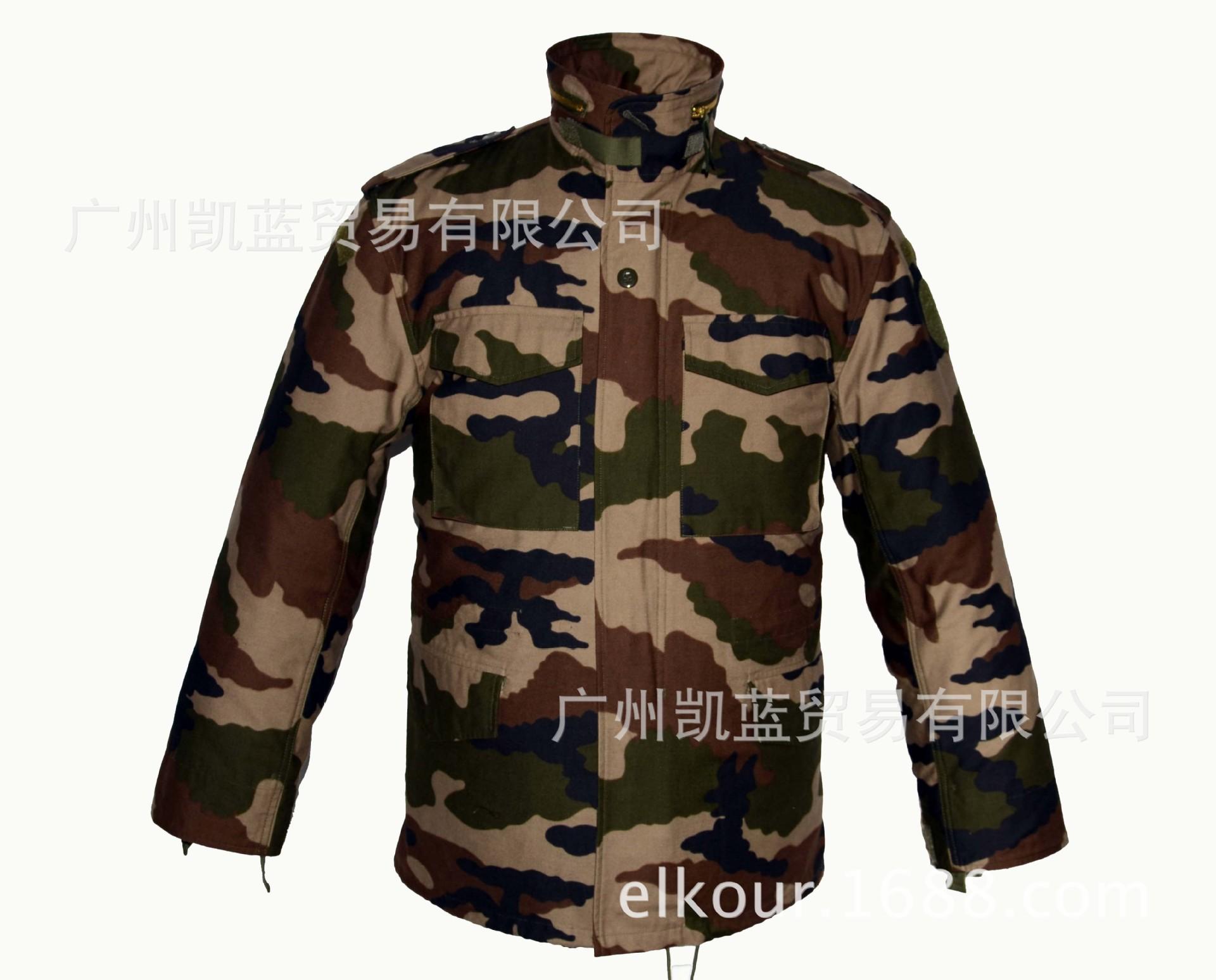 厂家直销批发丛林迷彩M65夹克可定制