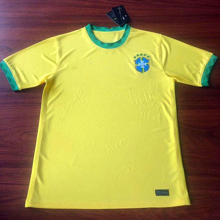 2020新款巴西法国巴萨泰版上衣短袖足球服俱乐部国家队球服批发