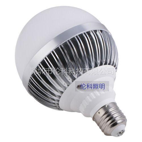 供应LED9W拉伸铝球泡大功率球泡批发螺口E27LED球泡