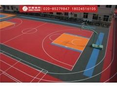 拼装地板材料生产厂家,塑胶拼装地板篮球场建设