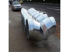 广州大型镀锌排烟管道生产厂家风管配件裤衩三通