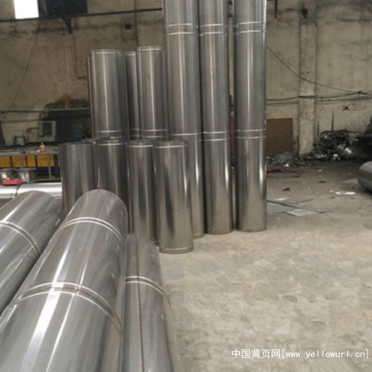 不锈钢焊接管304 不锈钢螺旋风管201制作厂家