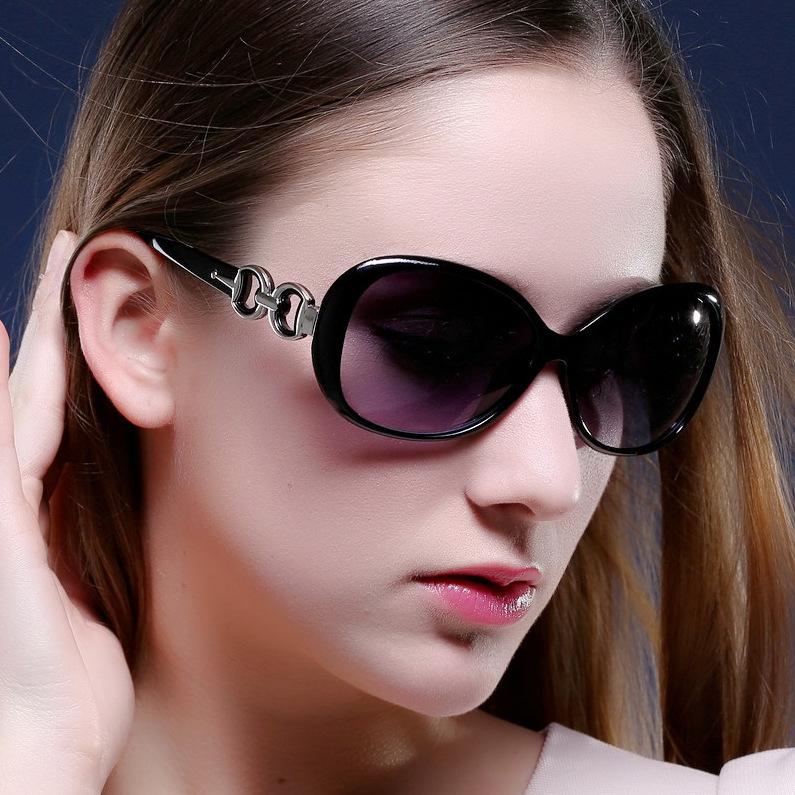 2019新款时尚圆大框太阳镜韩国女士太阳眼镜墨镜厂家批发9509